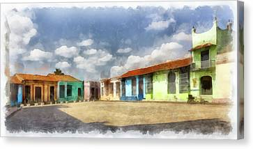 Colors Of Camaguey Canvas Print