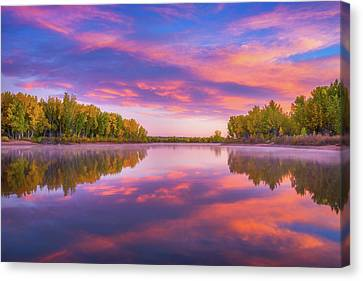 Canvas Print featuring the photograph Colors Of Chatfield by Darren White