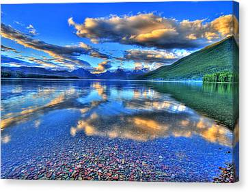 Colors Of Clouds Canvas Print by Scott Mahon
