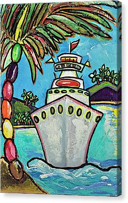 Colors Of Cruising Canvas Print by Patti Schermerhorn