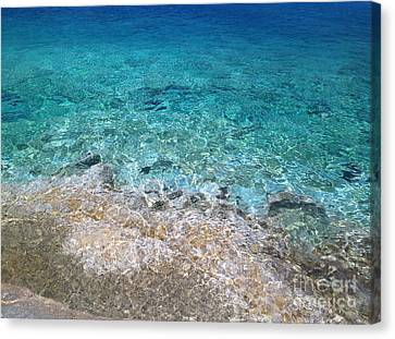 Colors Of Cyprus  Canvas Print