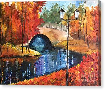 Colors Of Fall Canvas Print
