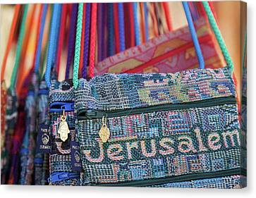 Colors Of Jerusalem Canvas Print