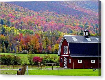 Colors Of New England Canvas Print by Rick  Monyahan
