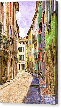 Colors Of Provence, France Canvas Print