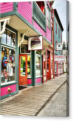 Colors Of Skagway Canvas Print
