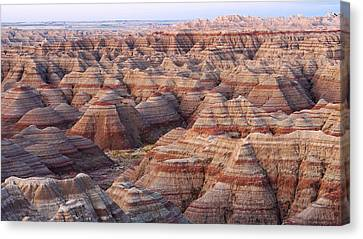Colors Of The Badlands Canvas Print