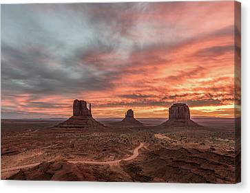 Canvas Print featuring the photograph Colors Of The Past by Jon Glaser