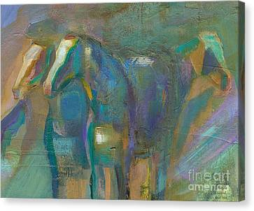 Colors Of The Southwest Canvas Print by Frances Marino