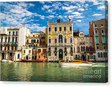 Colors Of Venice - Italy Canvas Print