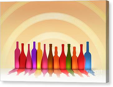 Colors Of Wine Canvas Print