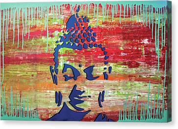 Colors That Surround U Canvas Print