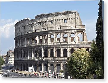 Colosseo I Canvas Print by Fabrizio Ruggeri