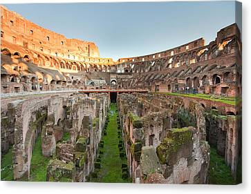 Colosseum Canvas Print by Andre Goncalves