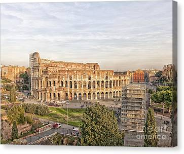 Colosseum From Palatine Hill Canvas Print