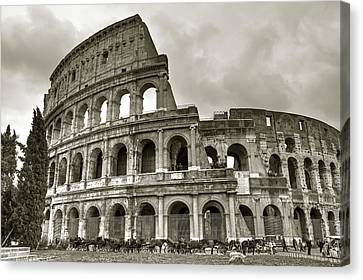 Colosseum  Rome Canvas Print