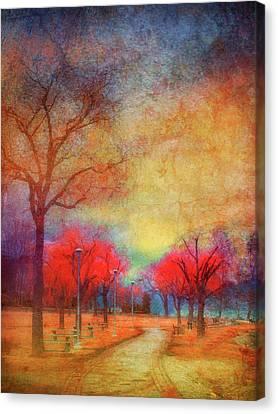 Colour Burst Canvas Print by Tara Turner
