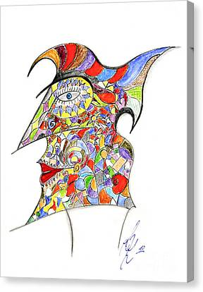 Colour In Mind Canvas Print by Peter Saltz