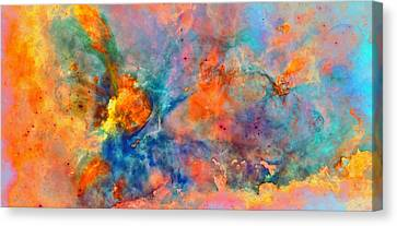 Colour Of Living Space Canvas Print by Yannick Wende