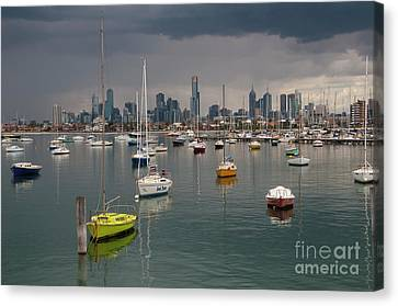 Colour Of Melbourne 2 Canvas Print by Werner Padarin