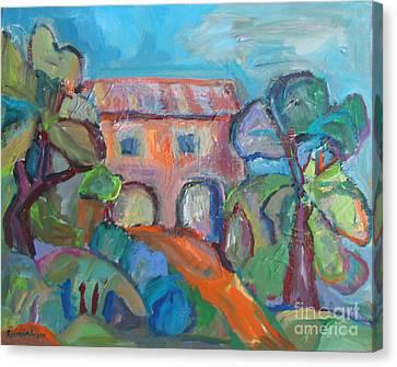 Colouresque 1 Canvas Print by Marlene Robbins