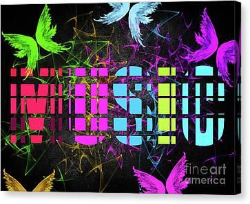 Colourful Music 2 Canvas Print by Prar Kulasekara