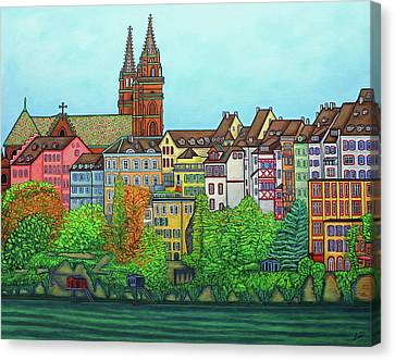 Canvas Print - Colours Of Basel by Lisa Lorenz