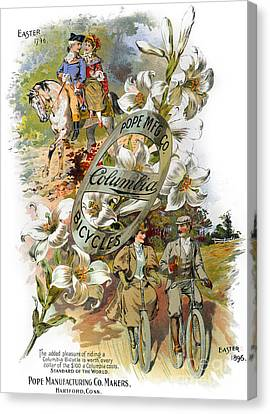 Columbia Bicycles Poster Canvas Print by Granger