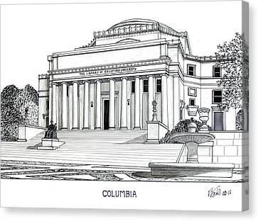 Columbia Canvas Print by Frederic Kohli