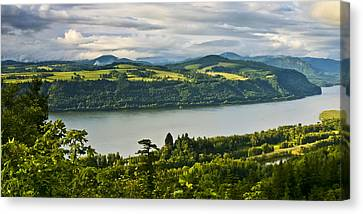 Columbia Gorge Scenic Area Canvas Print by Albert Seger