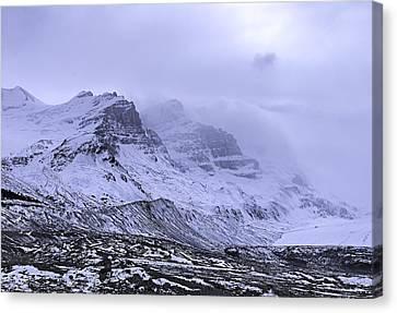 Columbia Ice Fields Canvas Print
