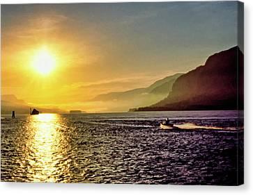 Columbia River 001 Canvas Print by Scott McAllister