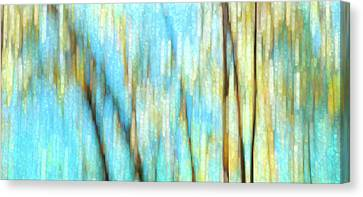 Canvas Print featuring the photograph Columbia River Abstract by Theresa Tahara