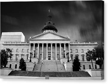 Columbia South Carolina State House Canvas Print