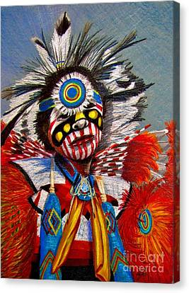 Comanche Dance Canvas Print by Marilyn Smith
