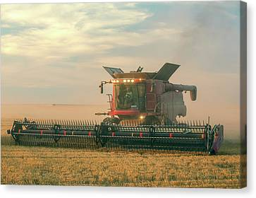 Combine In Dust Canvas Print by Todd Klassy