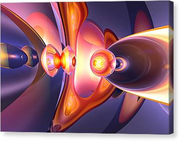 Combustion Canvas Print - Combustion Abstract by Alexander Butler