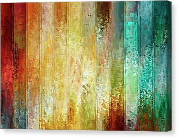 Abstract Art On Canvas Print - Come A Little Closer - Abstract Art by Jaison Cianelli