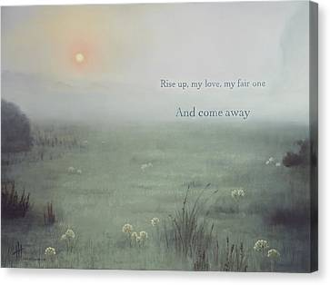 Come Away  Canvas Print by Hannah Harris