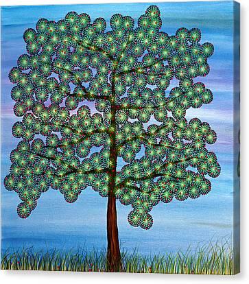 Come Climb My Branches Canvas Print