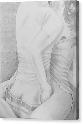 Come Closer Canvas Print by Michael Zonneveld