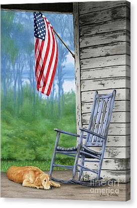 July 4th Canvas Print - Come Home by Sarah Batalka