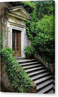 Canvas Print featuring the photograph Come On Up To The House by Marco Oliveira