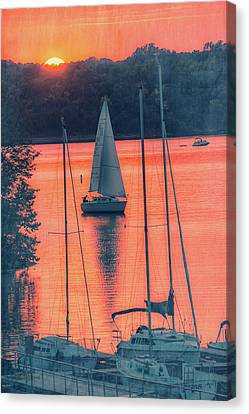 Come Sail Away Canvas Print by Pamela Williams