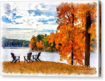 Come Sit For A While Canvas Print by Edward Fielding