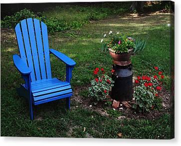 Come Sit  Canvas Print by Joanne Coyle