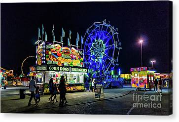Canvas Print - Come To The Fair by Kathleen K Parker