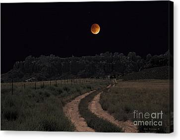 Come To The Moon Canvas Print