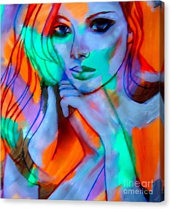 Comely Canvas Print