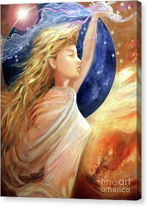 Comet Dreamer Ascend Canvas Print